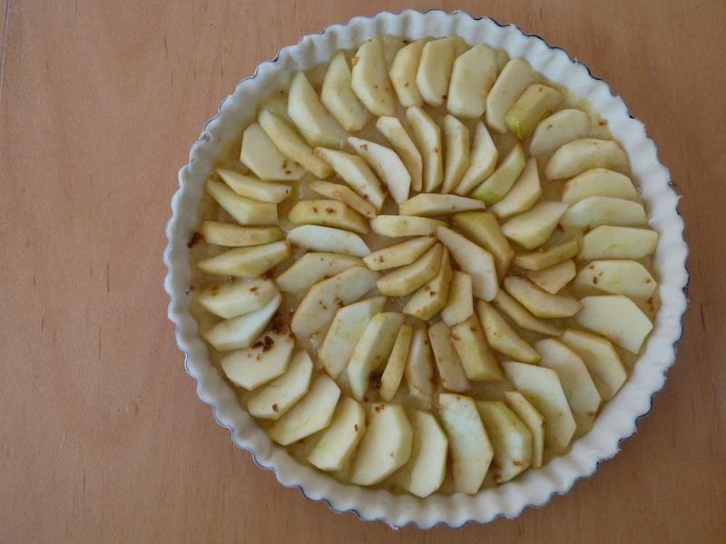 tarte de maçã sem açucar
