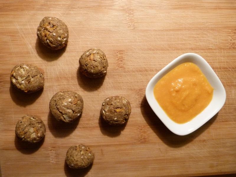 Almôndegas de lentilhas – Vegan