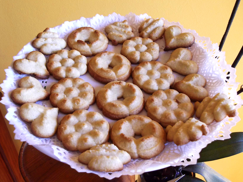 Bolachas de manteiga da Ana Maria