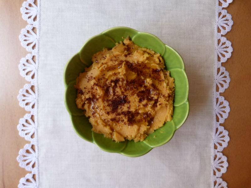 Hummus de batata doce